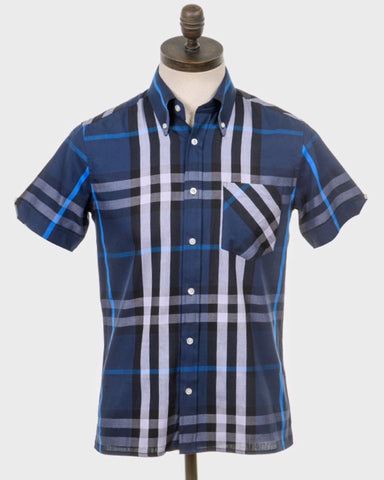 Art Gallery Clothing COVEY Shirt  Navy - indi menswear