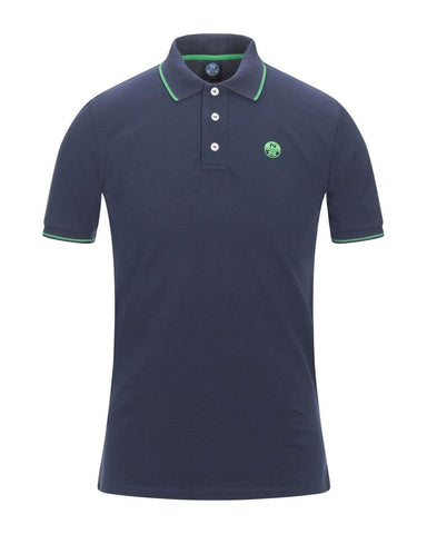north sails polo navy green