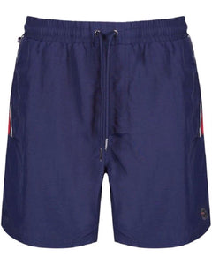 Luke CAEN Swim Shorts Navy - indi menswear