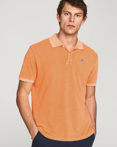 North Sails Polo Orange Fluo