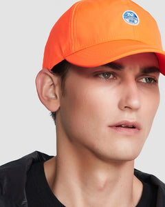 North Sails Baseball Cap Orange Fluo