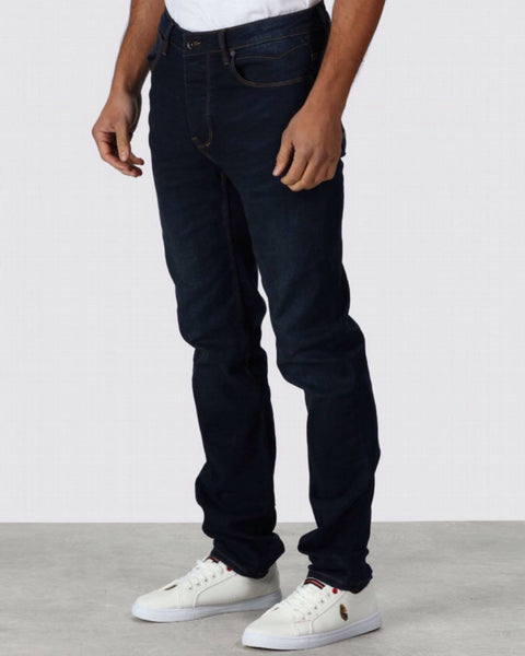 Luke Jeans Freddys Slim Straight Blue Black
