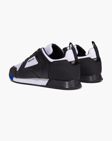 Cruyff Trainers LUSSO Black/White/Max Blue - indi menswear
