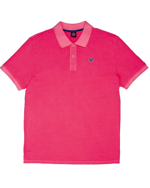 North Sails Polo Pink Fluo