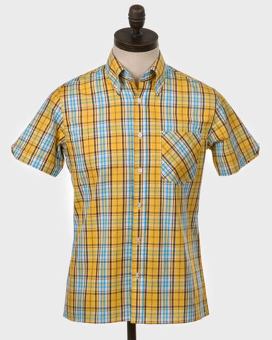 Art Gallery Clothing GARDINER Shirt Primrose Yellow