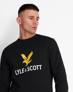 Lyle and Scott Logo Sweatshirt Black