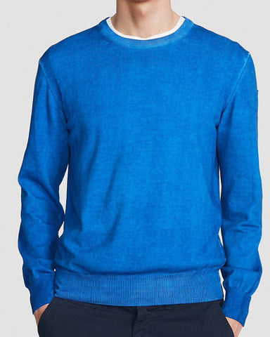 North Sails Crew Knit Ocean Blue