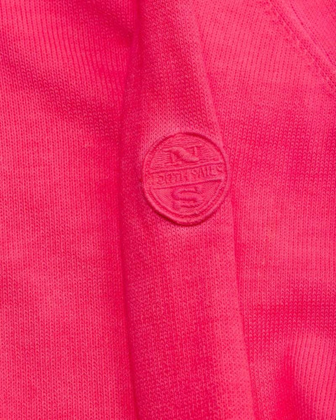 North Sails Pure Cotton Jumper Pink Fluo