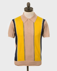 Art Gallery Clothing KENT Polo Cappuccino