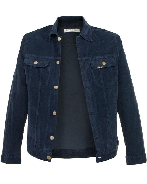 Lois Jeans TEJANA Needlecord Jacket Navy - indi menswear