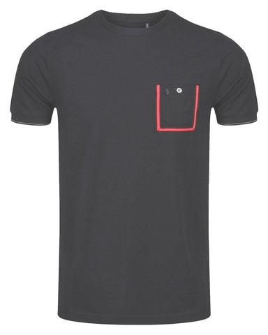 Luke DR DOLITTLE Tape Pocket T Shirt Jet Black