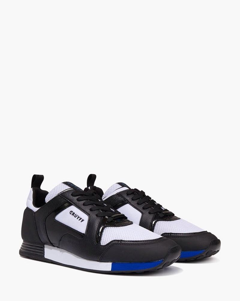 Cruyff Trainers LUSSO Black/White/Max Blue