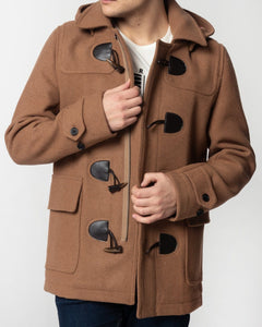 Merc BONNER Duffle Coat Tan