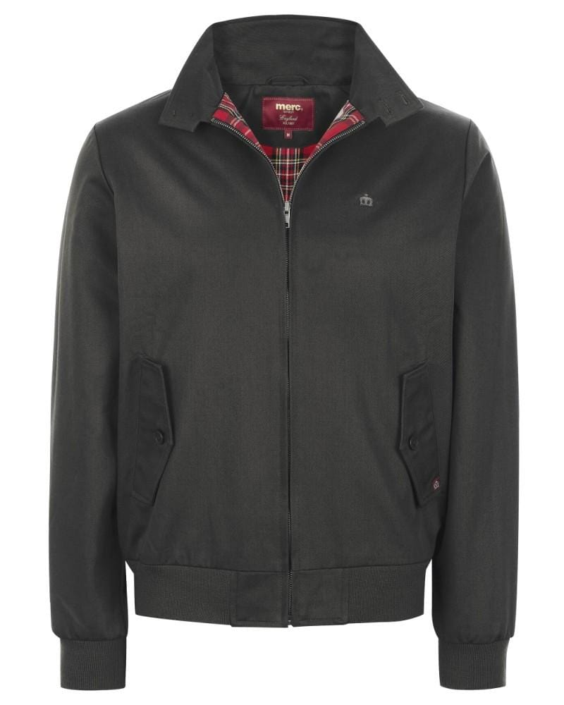 Merc Harrington Jacket Black - indi menswear