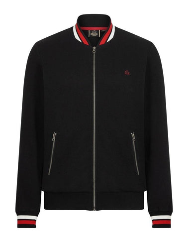 Merc London MULLINS Track Top Black