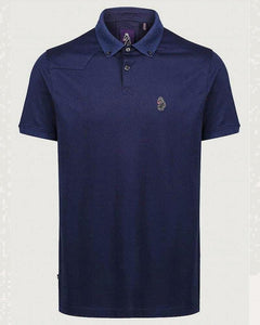 Luke NEW BIL LION Embroidery Polo Navy