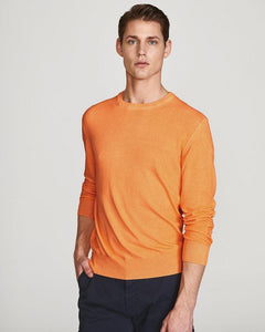 North Sails Pure Cotton Jumper Orange Fluo