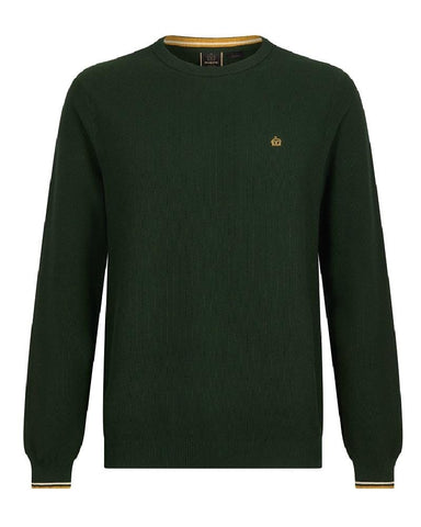 Merc London POWELL Jumper Dark Green