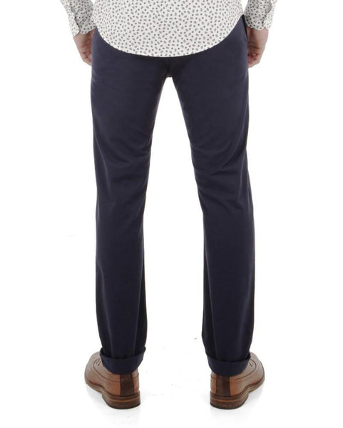 Ben Sherman Stretch Chinos Navy