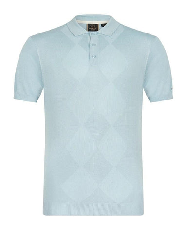 Merc London STOKES Polo Boy Blue