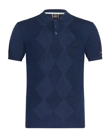 Merc London STOKES Polo Navy