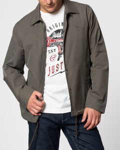 Merc SUFFOLK Coach Jacket Sage - indi menswear