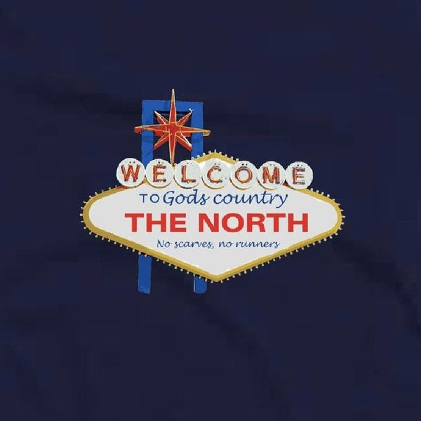 Eighties Casuals T Shirt Vegas-The North Navy