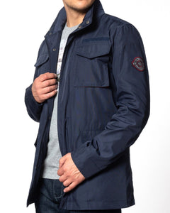 Merc London WOODFORD Field Jacket Navy - indi menswear