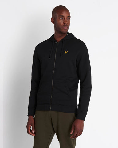 Lyle and Scott Zip-Through Hoodie Navy