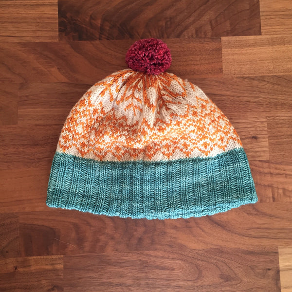 New Hat Pattern: Persimmon