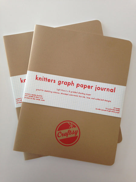 Knitters Graph Paper Journals make great workshop or retreat swag!