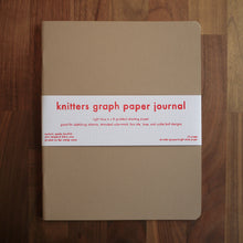 Load image into Gallery viewer, Knitters Graph Paper Journal