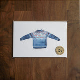 Sweater Postcard Set