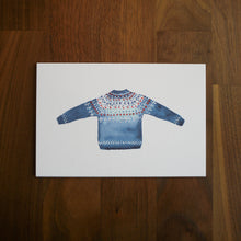 Load image into Gallery viewer, Sweater Postcard Set