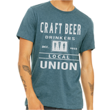 Men's Craft Beer Drinkers Union T-Shirt
