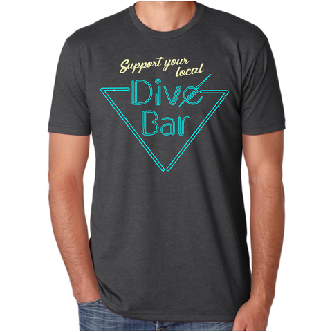 Men's Support Your Local Dive Bar T-Shirt