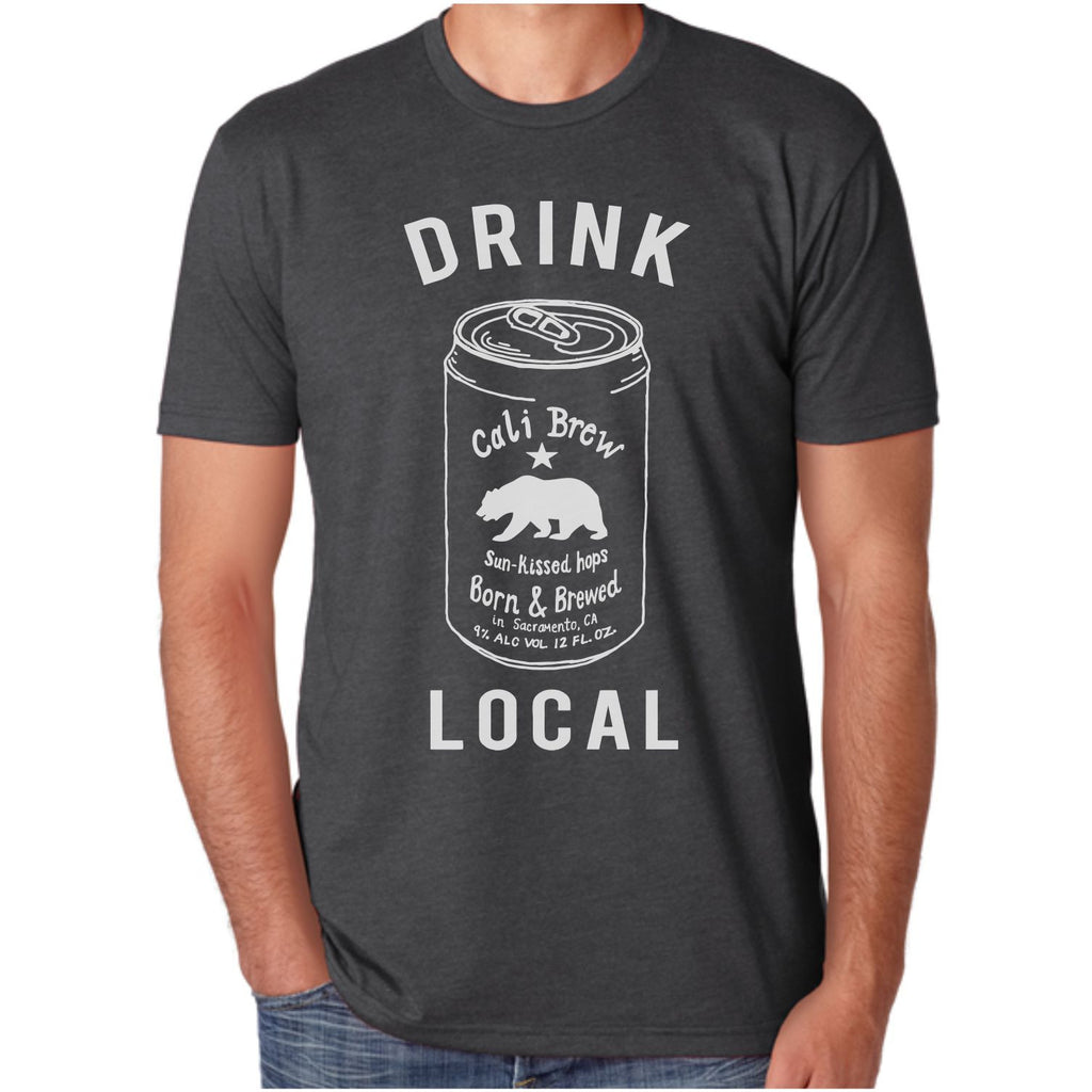 Men's California Drink Local Beer T-shirt