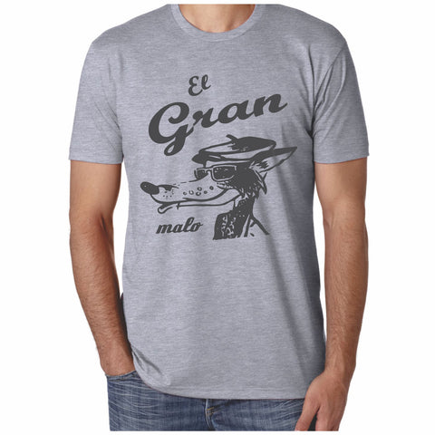 Men's The Big Bad Wolf- El Gran Malo Lobo- T-Shirt