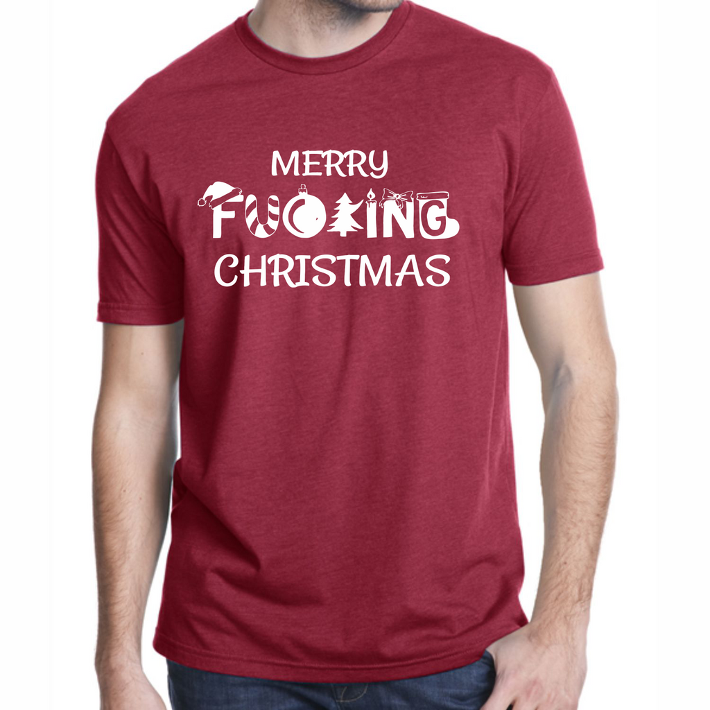 Unisex Merry Fucking Christmas T-Shirt