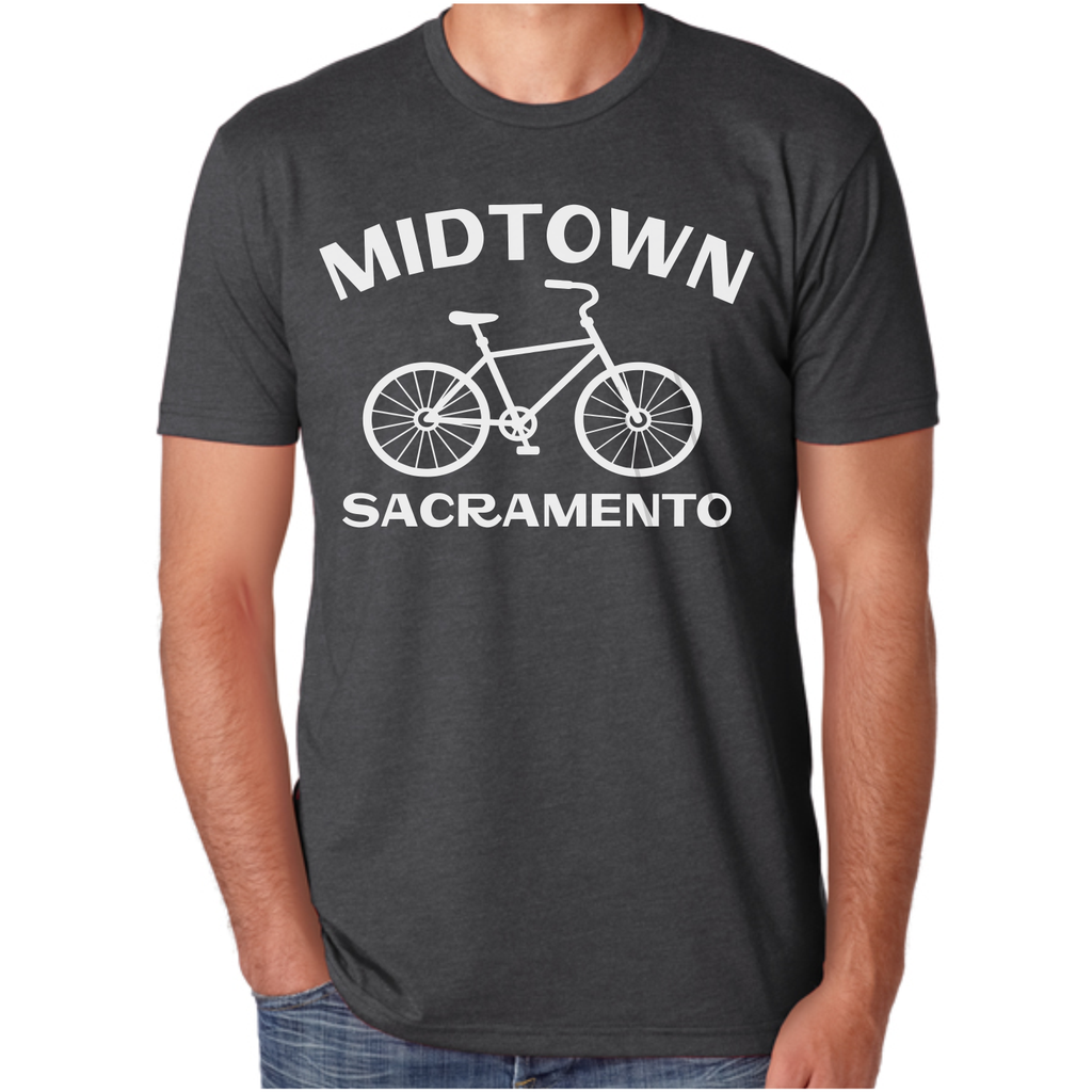 Mens Midtown Sacramento Bike T-Shirt