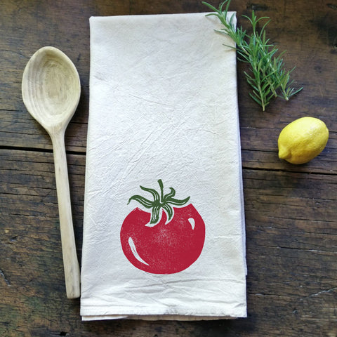 Heirloom Tomato - Flour Sack Tea Towel