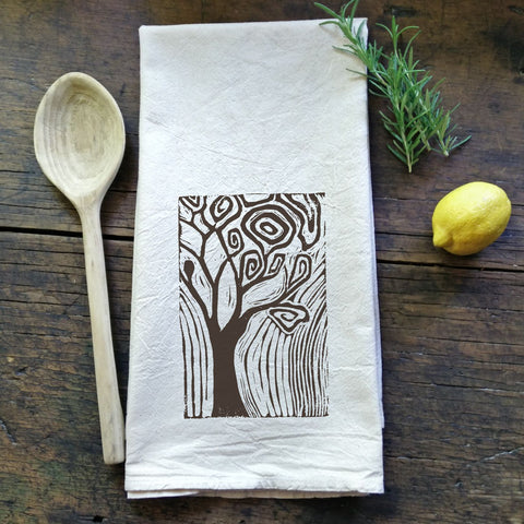 Whimsical Tree  - Flour Sack Tea Towel
