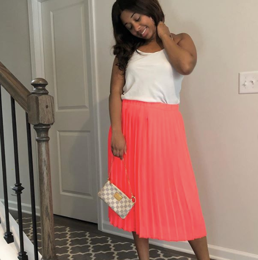 Baby Coral Skirt