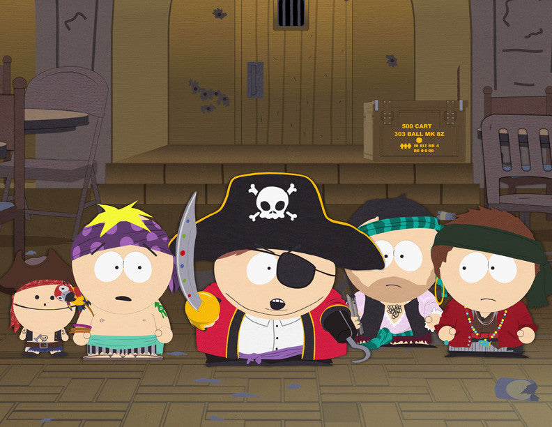 G-I-N-G-E-R-S Can't Be Pirates!