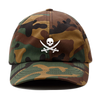 Camo Pirate Flag Dad Hat