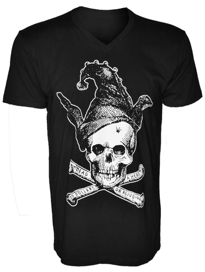 Jester is Dead Skull T-Shirt
