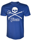 PIRATA King Neptune Graphic Royal Blue T-Shirt