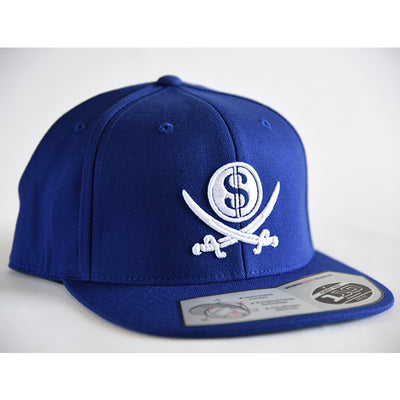 Blue Pirate & Loot Snapback Hat