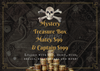 Mystery Treasure Box- Captain