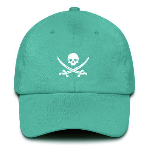 4eaa4dd2088509 Pirate Flag Dad Hat (Peached Cotton) - PIRATA CLOTHING